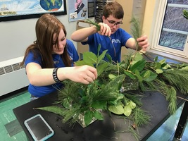MSHS/MSJH FFA Learn About Floral Arranging